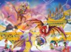 Dragon Storm - 500pc Jigsaw Puzzle By Melissa & Doug