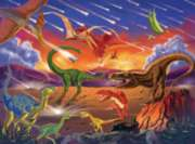 Dinosaurs Jigsaw Puzzles for Kids - The End of an Era