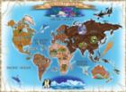 Map of the World - 500pc Jigsaw Puzzle By Melissa & Doug