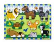 Pets - 8pc Wooden Puzzle By Melissa & Doug