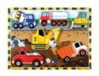 Construction - 6pc Wooden Children's Puzzle By Melissa & Doug