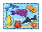 Sea Creatures - 7pc Wooden Children's Puzzle By Melissa & Doug