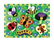 Bugs - 7pc Wooden Puzzle By Melissa & Doug