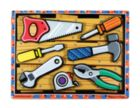 Tools - 7pc Wooden Children's Puzzle By Melissa & Doug