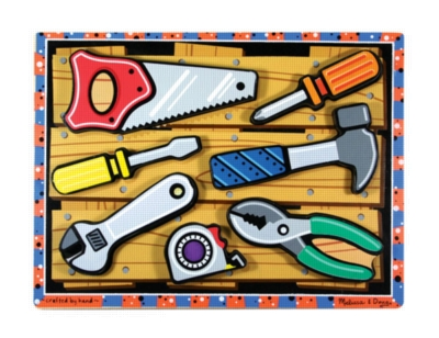 Children's Puzzles - Tools