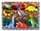 Dinosaur - 7pc Chunky Wooden Puzzle By Melissa and Doug