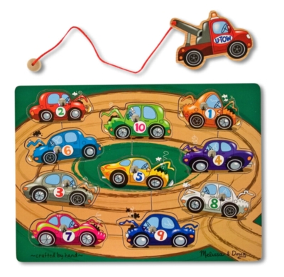 Towing - 10pc Magnetic Puzzle By Melissa and Doug