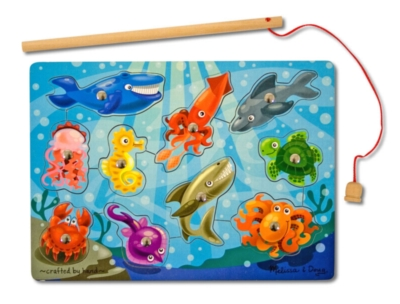 Fishing - 10pc Magnetic Puzzle By Melissa and Doug
