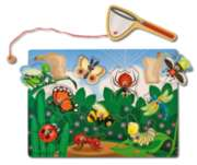 Bug Catching - 10pc Magnetic Puzzle By Melissa and Doug