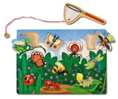 Children's Puzzles - Bug Catching
