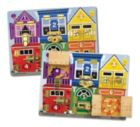 Latches Board - 6pc Wooden Puzzle By Melissa and Doug
