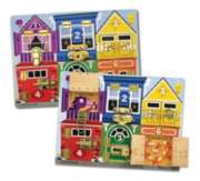 Children's Puzzles - Latches Board