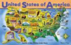 USA Map - 45pc Wooden Educational Puzzle By Melissa & Doug
