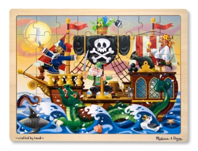 Pirate Adventure - 48pc Jigsaw Puzzle By Melissa and Doug