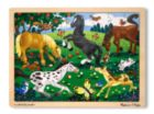 Frolicking Horses - 48pc Jigsaw Puzzle By Melissa and Doug