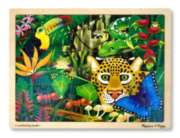 Rain Forest - 48pc Jigsaw Puzzle By Melissa and Doug