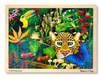 Melissa and Doug Jigsaw Puzzles for Kids - Rain Forest