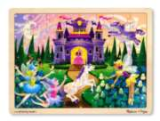 Fairy Castle - 48pc Wooden Tray Puzzle By Melissa and Doug