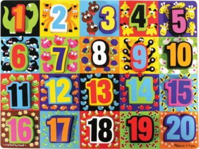 Children's Puzzles - Jumbo Numbers