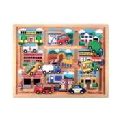 Vehicles - Maze By Melissa & Doug