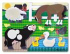 Farm - 4pc Touch and Feel Puzzle By Melissa & Doug