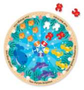 Sea Friends - 21pc Shaped Floor Puzzle By Melissa and Doug