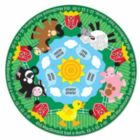 Farm Friends - 11pc Round Floor Puzzle By Melissa and Doug