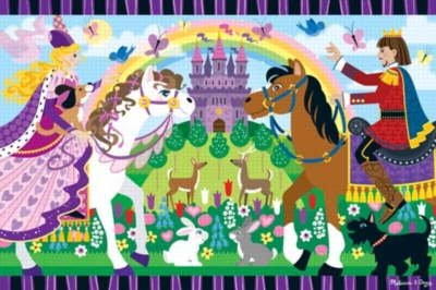 Fairy Tale Friendship - 24pc Floor Puzzle By Melissa & Doug
