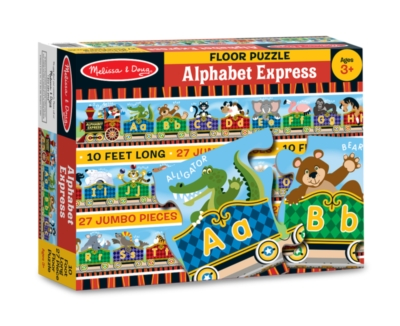 Alphabet Jigsaw Puzzles for Kids - Alphabet Express