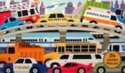 Traffic Jam - 24pc Floor Puzzle By Melissa and Doug