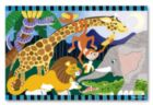 Safari Social - 24pc Floor Puzzle By Melissa and Doug
