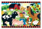 Happy Harvest Farm - 24pc Floor Puzzle By Melissa and Doug
