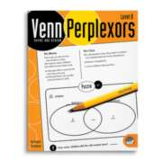 Venn Perplexors Level B - Puzzle Book By Mindware