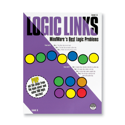 Logic Links Level A - Puzzle Book By Mindware