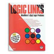 Logic Links Level C - Puzzle Book By Mindware