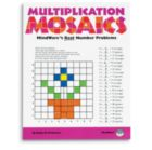 Multiplication Mosaics - Puzzle Book By Mindware