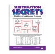 Subtraction Secrets - Puzzle Book By Mindware