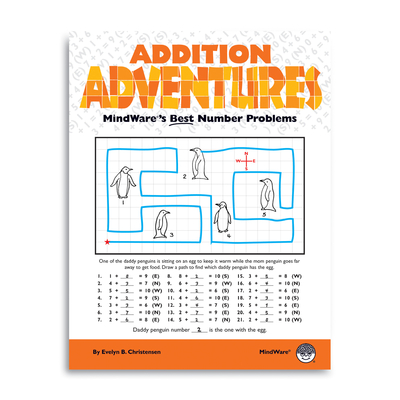 Addition Adventures - Puzzle Book By Mindware