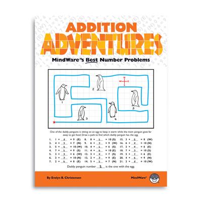 Puzzle Books - Addition Adventures