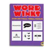 Word Winks - Puzzle Book By Mindware