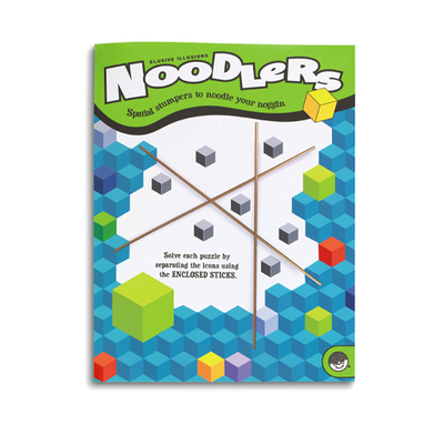 Noodlers Elusive Illusions - Puzzle Book By Mindware