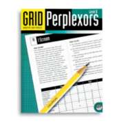 Grid Perplexors Level B - Puzzle Book By Mindware