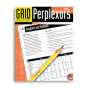 Grid Perplexors Level C - Puzzle Book By Mindware