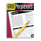 Grid Perplexors Level D - Puzzle Book By Mindware