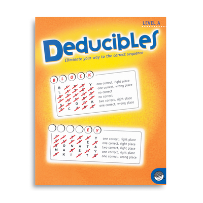 Deducibles Level A - Puzzle Book By Mindware