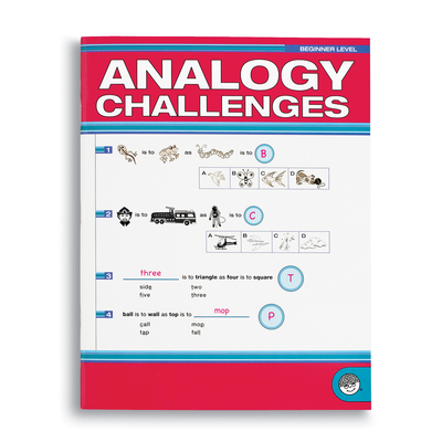 Analogy Challengers Beginner - Puzzle Book By Mindware