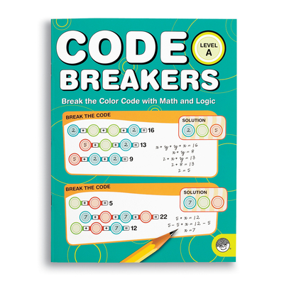 Code Breakers Level A - Puzzle Book By Mindware