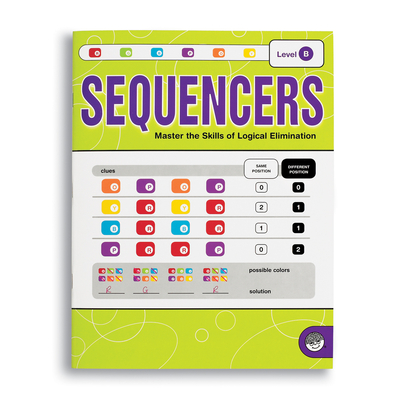 Sequencers Level B - Puzzle Book By Mindware