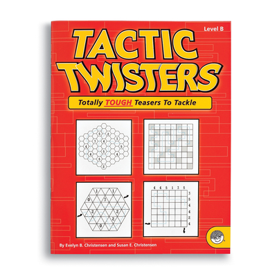 Tactic Twisters Level B - Puzzle Book By Mindware