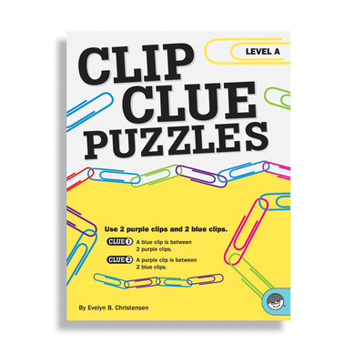 Puzzle Books - Clip Clue Puzzles Level A